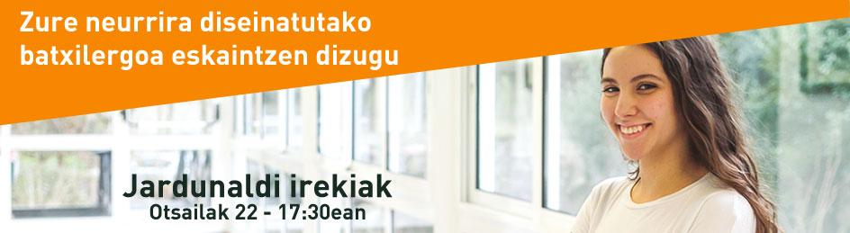 Jardunaldi Irekiak batx  2019