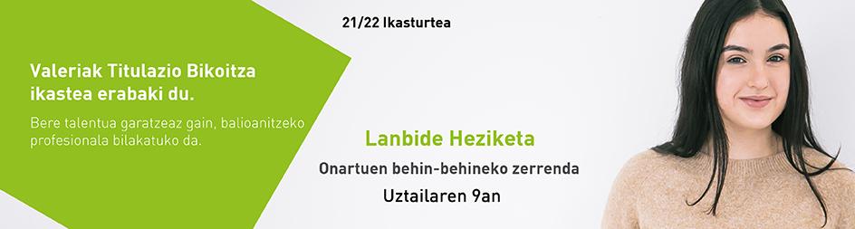 Onartuen Zerrenda 2021